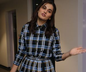 Actress Tapsee Pannu During the Photo Section