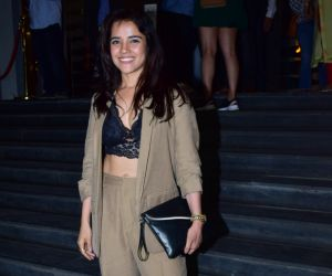 Actress Tapsee Pannu during the screening of film Thappad at pvr icon in andheri