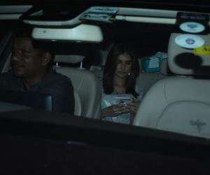 Actress Tara Sutaria  seen at bandra