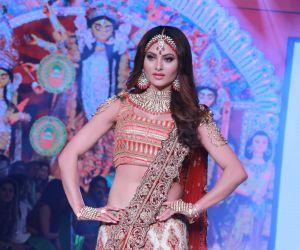 Actress Urvashi Rautela at Bombay Times Fashion Week 3rd show