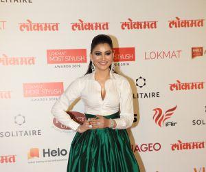 Actress Urvashi Rautela During the Star Studded 4th Edition Of Lokmat Most Stylish Awards