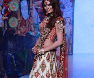Actress Urvashi Rautela's stunning ramp walk at Bombay Times Fashion Week 2020