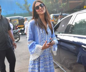 Actress Vaani Kapoor spotted Mukesh Chabra's office in juhu