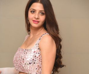 Actress Vedhika During the Photo Section.