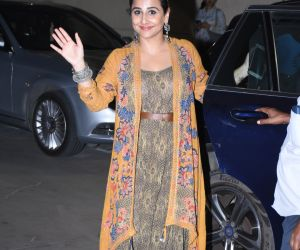 Actress Vidya Balan atthe annual day function of Dhirubhai Ambani International School.