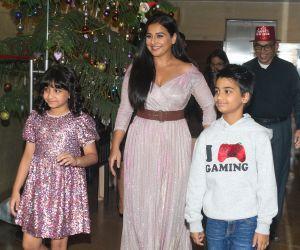 Actress Vidya Balan celebrates her birthday with family.