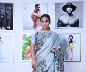 Actress Vidya Balan in Dabboo Ratnani calander at olive bandra