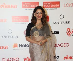 Actress Yami Gautam  During the Star Studded 4th Edition Of Lokmat Most Stylish Awards