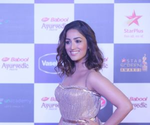 Actress Yami Gautam in Star Screen Awards at BKC.