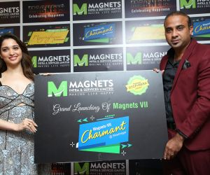 ActressTamannaah launches new Projects of Magnets Infra Services