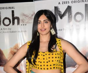 Adah Sharma for the media interactions of her film Moh