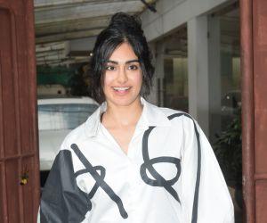 Adah Sharma spotted at sunny sound juhu