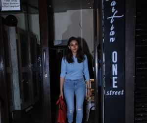 Actress Aditi Rao Haydari at Bastian Bandra
