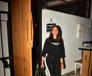 Aditi Rao Hydari spotted at bandra