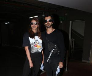 Aditya Seal and Anushka Ranjan Spotted At Airport