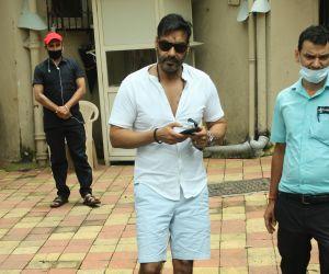 Ajay Devgan spotted at juhu