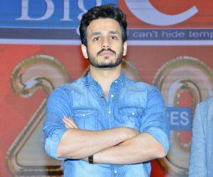 Akhil Akkineni @ BIGC 200th Store Press Meet