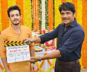 Akhil-Venky-SVCC Movie launch