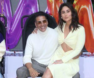Akshay Kumar and Kareena Kapoor Trailer launch of New Film Good Newwz at Cinepolis