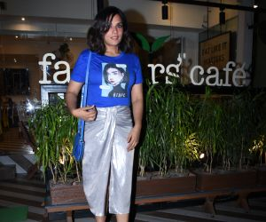 Actress Richa Chadha spotted at bandra