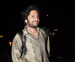 Ali Fazal Spotted At Soho House Juhu