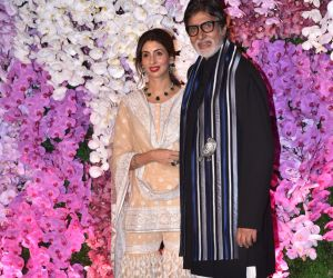 Amitabh Bachchan at Ambani's wedding