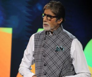 Amitabh Bachchan At Banega SwasthIndia
