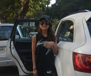 Amrita Arora spotted at bandra