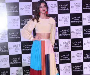 Ananya Panday At Lakme Fashion Week Day 3