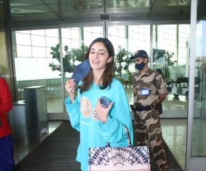 Ananya Panday Spotted At Airport Departure