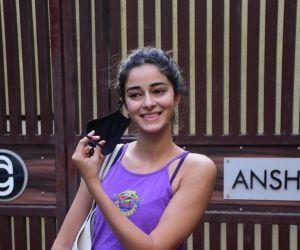 Ananya Panday spotted at Yoga Class Bandra