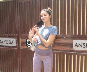Ananya Panday Spotted Yuga Class In Bandra