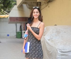Ananya Pandey spotted at Dharma office in khar
