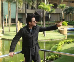 Actor Anil Kapoor poses for Photo on his Movie Promotion Pagalpanti