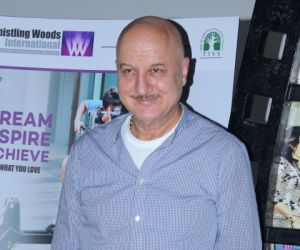 Anupam Kher Starts The New Session Year Of 2017