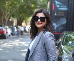 Actress Parineeti Chopra in promotion of her film Sandeep aur Pinky Faraar at andher
