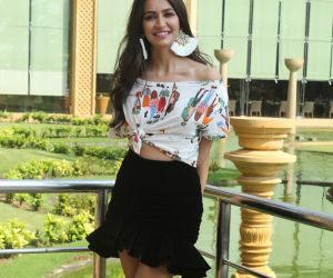 Actress Kriti Kharbanda during the promotions of her upcoming film Pagalpanti