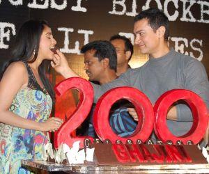 Asin and Aamir Khan