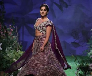 Actress Ileana D Cruz  On Ramp In L F W  2020
