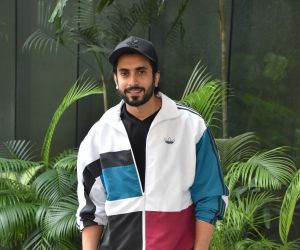 Ator Sunny Singh seen at Luv Films office.