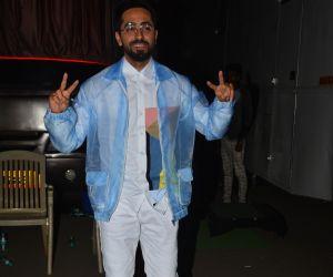 Actor Ayushmann Khurrana Spotted At Mehboob Studio In Bandra