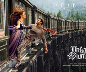 Beats Of Radhe Shyam out now- Happy Birthday Prabhas movie poster