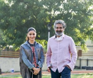 Beautiful and talented actress  Alia Bhatt joins RRR Movie shoot with director Rajamouli