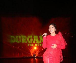 Bhumi Pednekar at Durgamati promotion