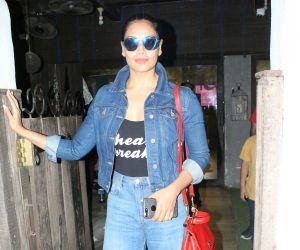 Bipasha Basu spotted at bandra