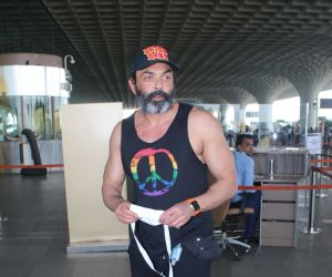 Bobby Deol Spotted At Airport Departure