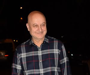 Bollywood celebs spotted at Anil Kapoor's house