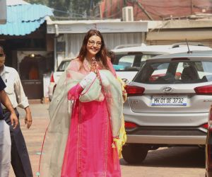 Bride To Be Kajal Agarwal Spotted At Kajal Home in Mumbai