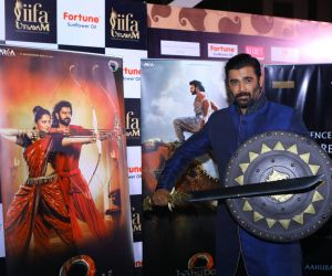 Celebrities at Baahubali VR Zone at IIFA