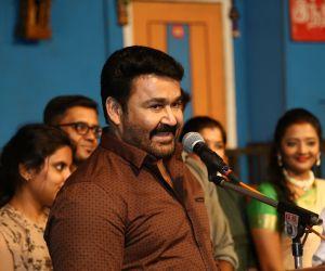 Mohanlal at YG Mahendran's 3Ji 100th Show Celebration Photos